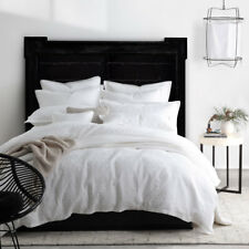 Private Collection Menzies White Super King Size Duvet Doona Quilt Cover Set