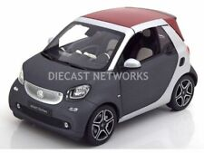 Smart Model Cars, Mercedes, 1/18 Scale, Smart 2 Seater - Blue