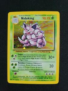 Pokemon - Nidoking Set Base 11/102 Rare Holo - ITA -