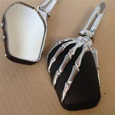 Talon Skull Mirror Harley Heritage Springer Sportster Dyna Glide Softail V Rod C