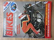 Performance Bikes 1985 Honda VF1000F2 Honda NS400 Honda NS250 Weslake V-twin