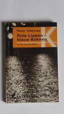 T071-Peter cheyney-labios rojos-judías azules - 1958