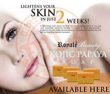 Royale Kojic Papaya Soap with New & Improved Orange Scent! FREE US SHIPPING!