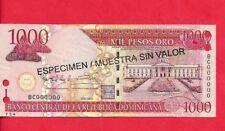 DOMINICAN-REPUBLIC-1000-PESOS-Specimen-UNC-SHARP