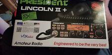 President Lincoln II + 10/11/12 meter SUPER RADIO!! New in box. Upgraded!