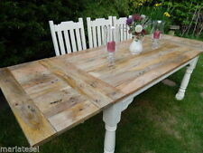Farmhouse Solid Wood Extending Table & Chair Sets