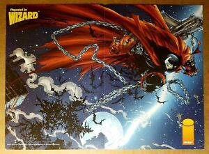 Spawn Chains Image Comics Poster by Todd McFarlane