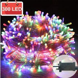 ✅Mains Plug in String Fairy Lights 300 LED Garden Outdoor Indoor Home Light