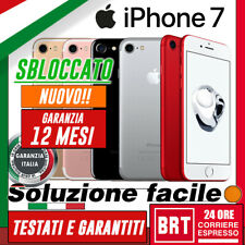 NUOVO! SMARTPHONE APPLE IPHONE 7 32GB 128GB 256GB SBLOCCATO ED IN ITALIA! iOS!!!