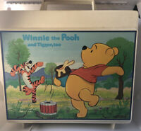Vintage Sears Winnie the Pooh and Tigger Too Record Phonograph Player Works
