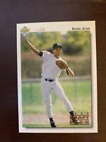 1992 Derek Jeter Upper Deck Draft Pick  Rookie RC  NM-MT YANKEES HOF