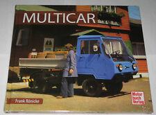 Schrader Tipos Crónica Multicar M22, 24 , 25 , 26 , Dieselameise Libro Ilustrado
