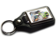 FORD FOCUS RS Rally Car WRC Koolart Quality Leather and Chrome Keyring