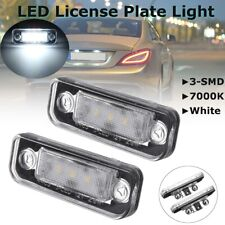 LED License Plate Light Lamp Error Free For Mercedes Benz W203 5D W211 W219