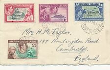 PITCAIRN ISLANDS 1947 COVER CONTAINING INTERESTING LETTER 4 STAMPS