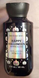 NEW Bath & Body Works Shower Gel Vampire Blood Happy Halloween 3 oz