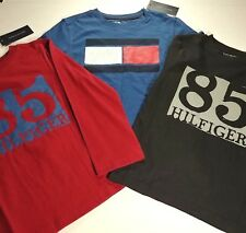 Tommy Hilfiger Boy's T-Shirts - (3) Three Long Sleeve Shirts - Boy's 6 - NWT