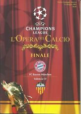 2001 Champions League Final Bayern Munich v Valencia Excellent Condition - Mint?