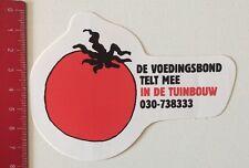 Aufkleber/Sticker: De Voedingsbond Telt Mee In De Tuinbouw (120616115)