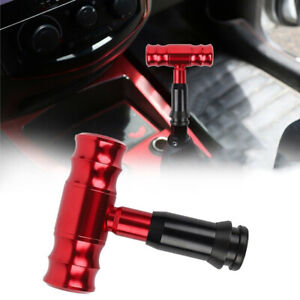 Aircraft Red Automatic Car Gear Shift Knob Manual Shifter Lever Head Universal