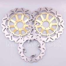 Front Rear Brake Discs Rotor For Honda CBR900RR 919 1998-1999 CBR 900RR 1000RR