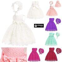 Vestito Bambina Neonata Abito Cerimonia Battesimo Newborn Princess Dress CHR005