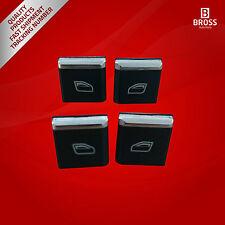 4 Pcs Window Main Switch Button Cap Cover 7PP959858R for Porsche Cayenne 11-14