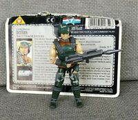 GI Joe ARAH DODGER V1 Figure Cobra Vintage Original 1987 w file card