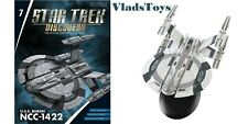 Star Trek Discovery USS Buran Federation starship Issue #7 w/booklet Eaglemoss