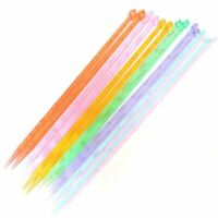 1X(14pcs 7 size 35cm Length Single Pointed Knitting Needle Kits DIY Knitted6T4)