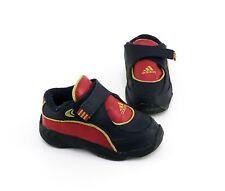Adidas Sneaker Halbschuhe Klettverschluss blau rot Gr. 23