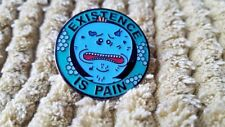 Mr Meeseeks Existence is Pain Rick and Morty high quality enamel pin! UK Seller.