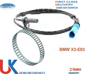 BMW X3 ABS RELUCTOR RING+ABS SPEED SENSOR E83 (2004-2014) REAR