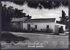 SASSARI OLBIA TEMPIO LA MADDALENA 15 CAPRERA - GARIBALDI Cartolina FOTOGRAFICA