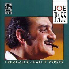 Joe Pass - I Remember Charlie Parker [New CD]