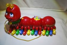 Leap Frog Caterpillar Alphabet Pal Educational Abc Phonics in Red
