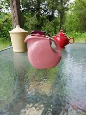 LARGE DISK PITCHER rose pink FIESTAWARE FIESTA 67 OZ