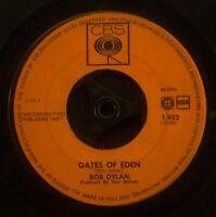 "7"" BOB DYLAN - like a rolling stone / gates of eden"
