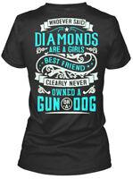 My Gun And Dog - Baby Girl Whoever Said Diamonds Are Gildan Women's Tee T-Shirt