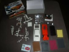 2009 The Dukes of Hazzard General Lee 1969 Dodge Charger Plastic Model Kit Parts