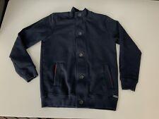 Hugo Boss Boys Cardigan, Jacket, Size Age 14 S, Blue, Vgc