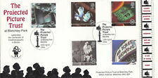 (61167) GB Bletchley Park FDC Cinema 100 Years Bletchley 1996