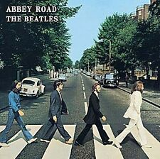 BEATLES ABBEY ROAD LP COVER metallo segno 300 mm x 300 mm (RO)