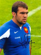 David Marty,France Rugby à XV,Etats-Unis Perpignan,Signé 20.3x15.2cm Photo Coa