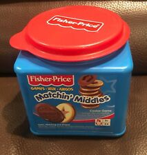 Fischer Price Oreo Matchin' Middles Shape Matching Game * Complete 24 Pieces