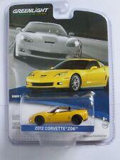 Greenlight 1:64 General Motors 2 - Chevrolet Corvette Z06 2012 yellow Brand new