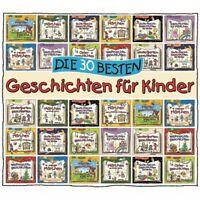 DIE 30 BESTEN GESCHICHTEN FÜR KINDER (HÖRBUCH) - LAMP UND LEUTE 2 CD NEU