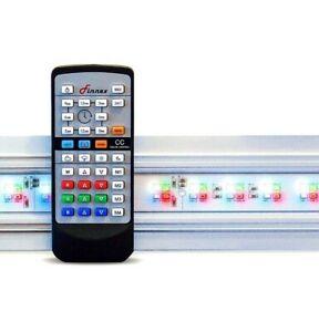 "Finnex Planted+ 24/7 HLC Customizable Aquarium LED Light HLC-20A: 20"" w/ Remote"