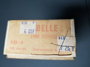 VINTAGE LaBelle HO 1902 Diner Car Kit--HO-8--NEW OLD STOCK