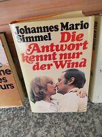 Die Antwort kennt nur der Wind, ein Roman von Johannes Mario Simmel
